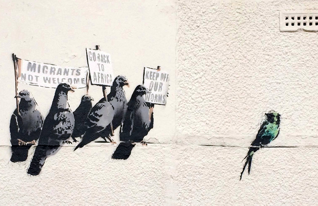 Banksy_Birds