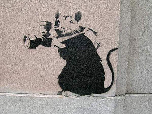 Banksy_Rat_Photo